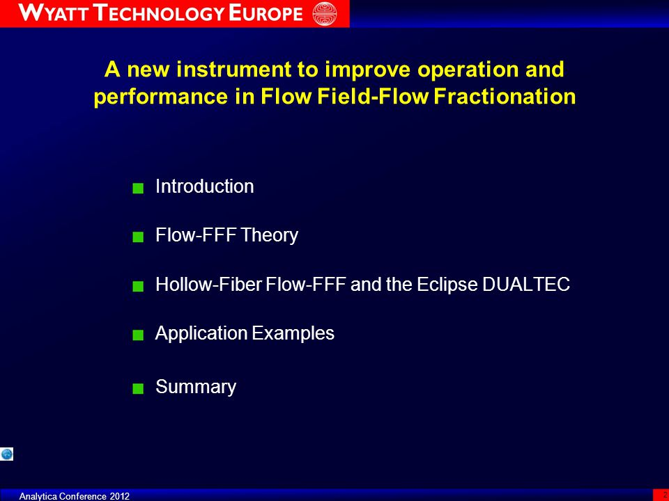 A new instrument to improve operation and performance in Flow Field-Flow Fractionation