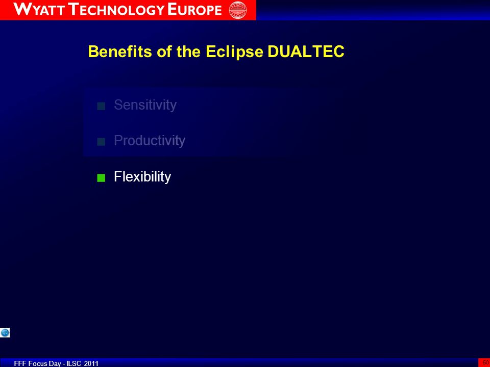 Benefits of the Eclipse DUALTEC