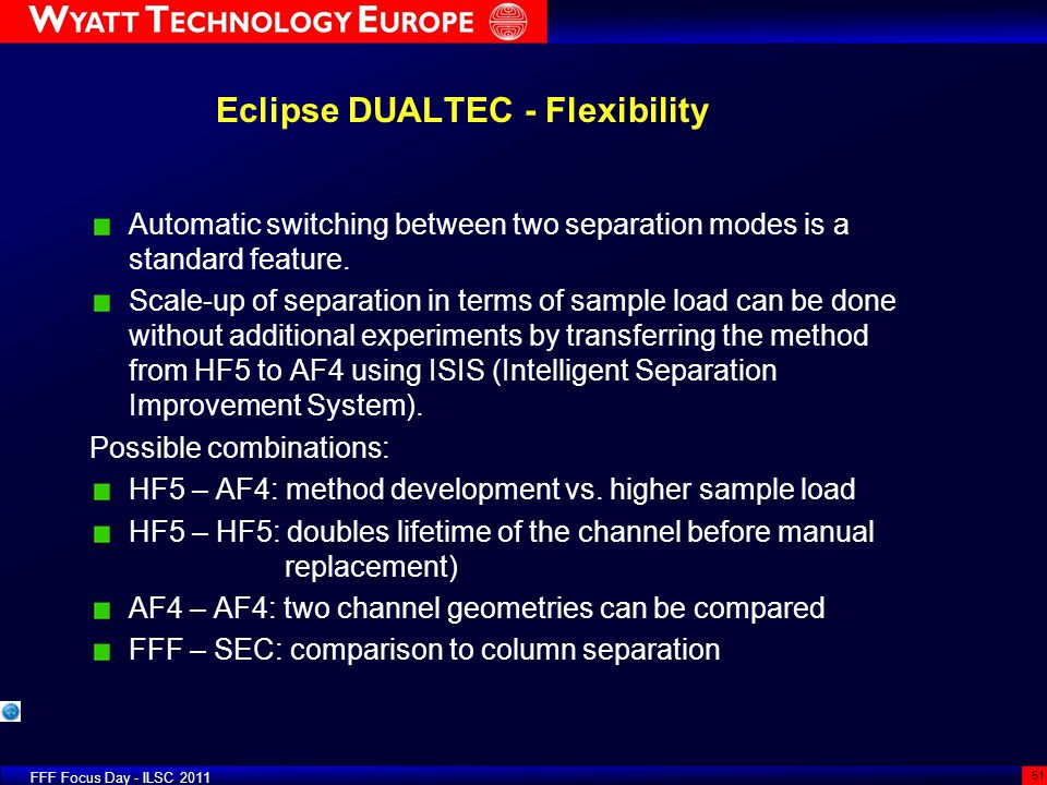 Eclipse DUALTEC - Flexibility