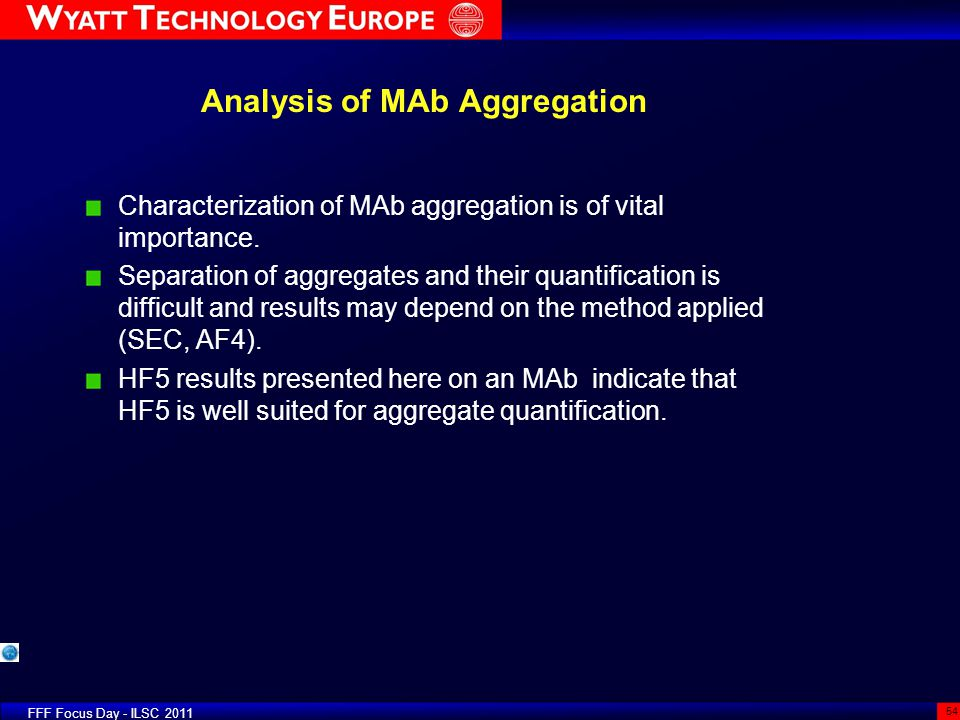 Analysis of MAb Aggregation