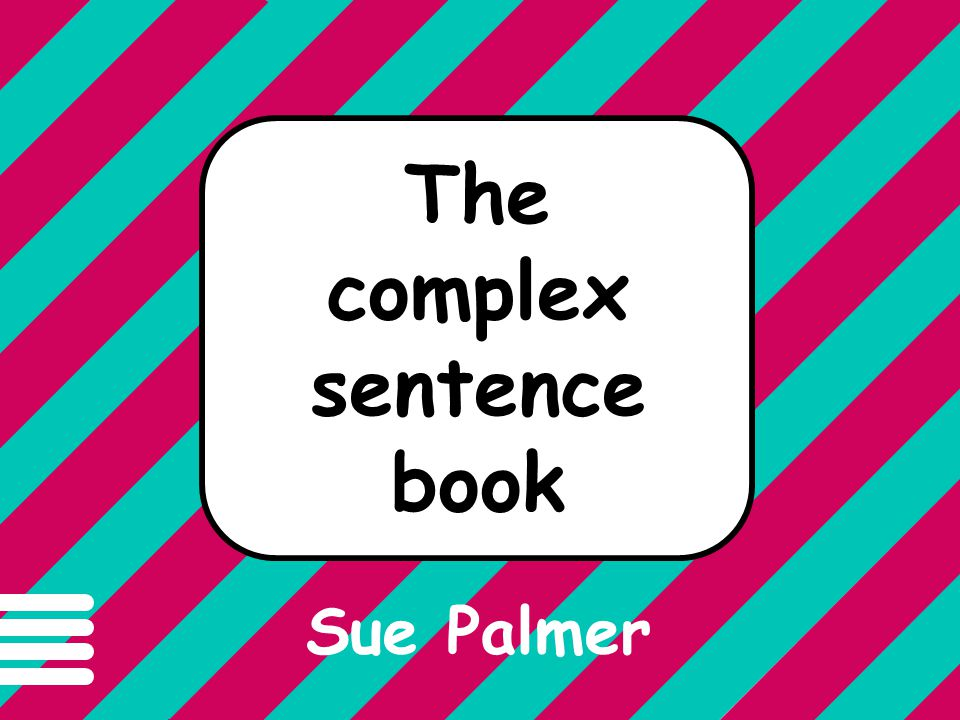 The complex sentence book