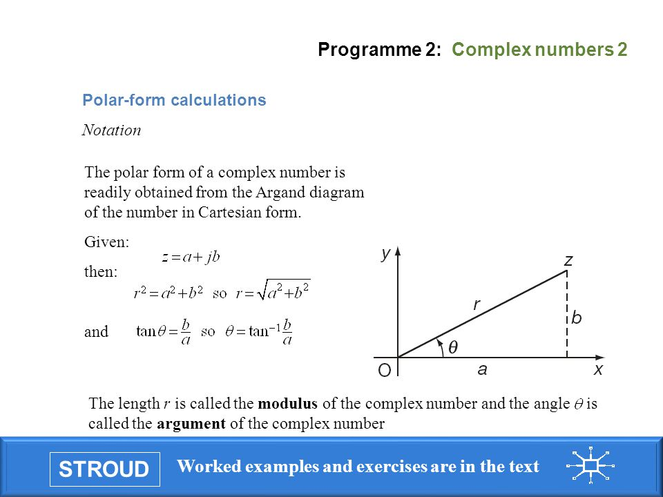 PROGRAMME 2 COMPLEX NUMBERS ppt download