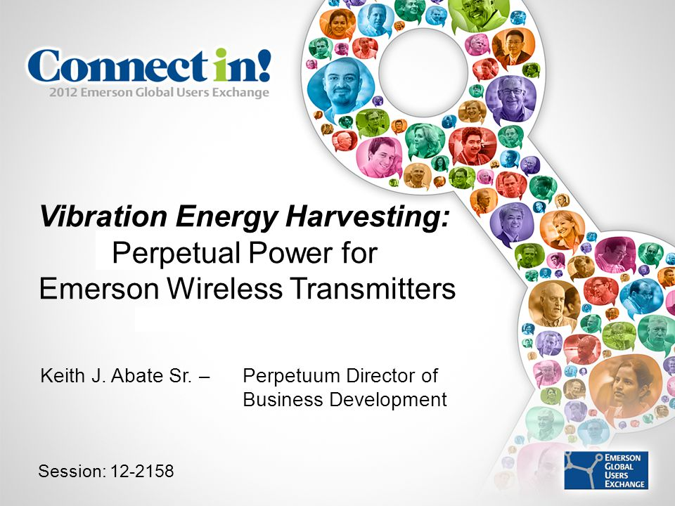 Vibration Energy Harvesting: Perpetual Power for Emerson Wireless Transmitters