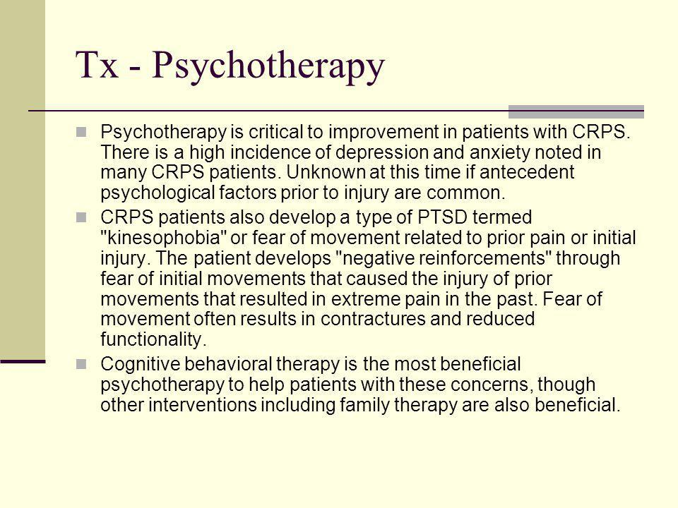 Tx - Psychotherapy