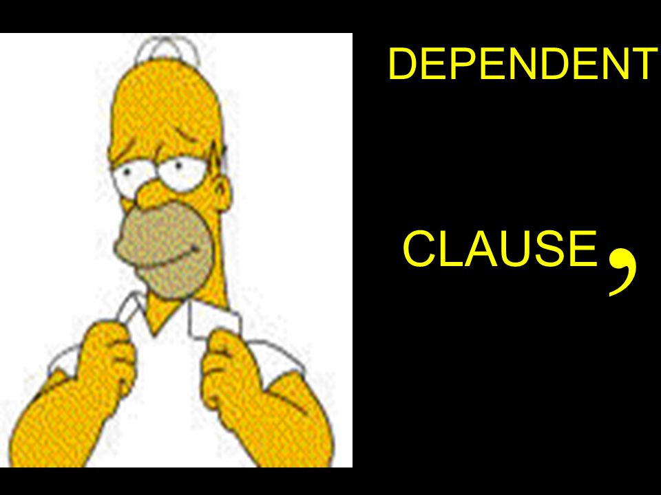 DEPENDENT CLAUSE,