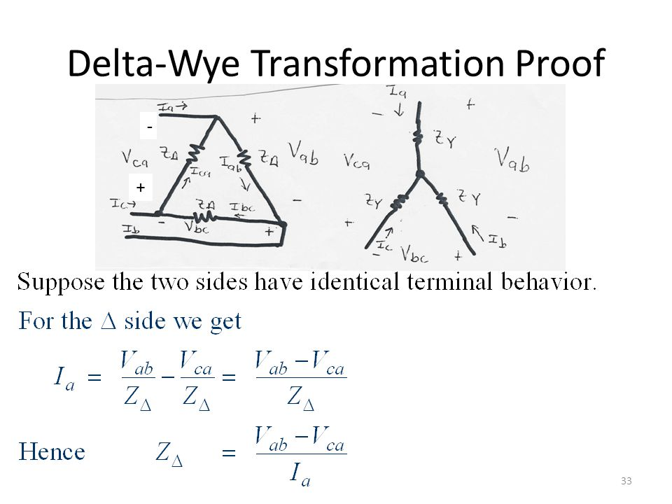 Delta-Wye Transformation Proof