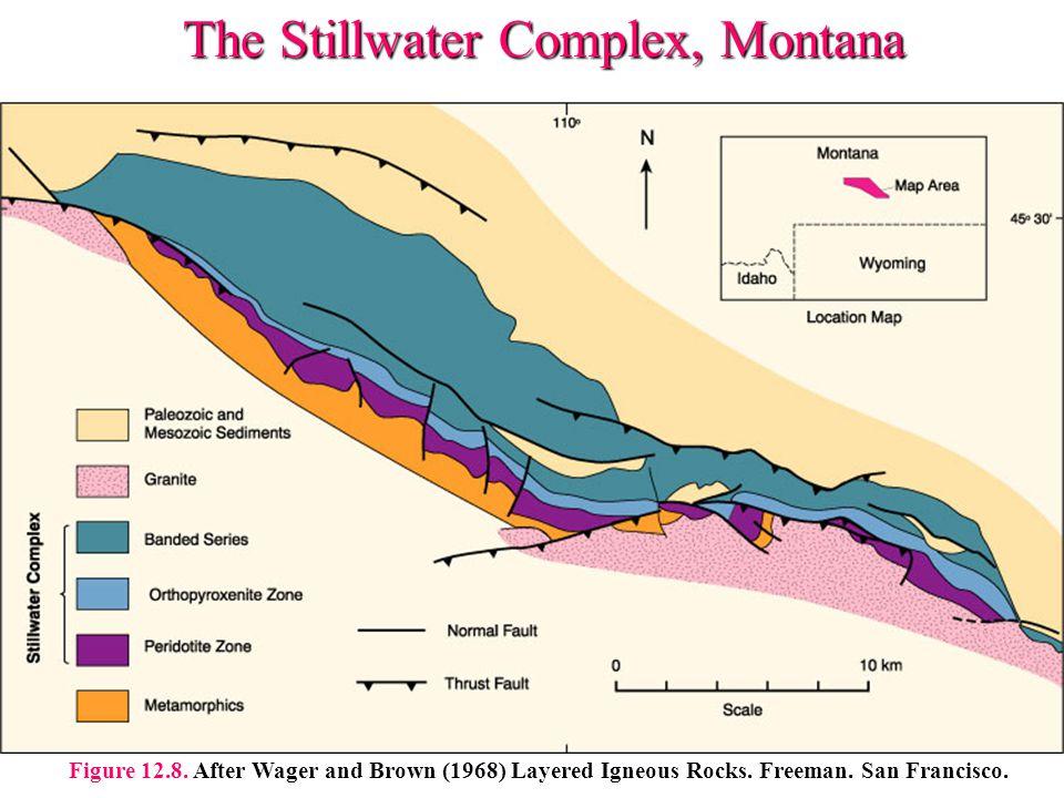 The Stillwater Complex, Montana