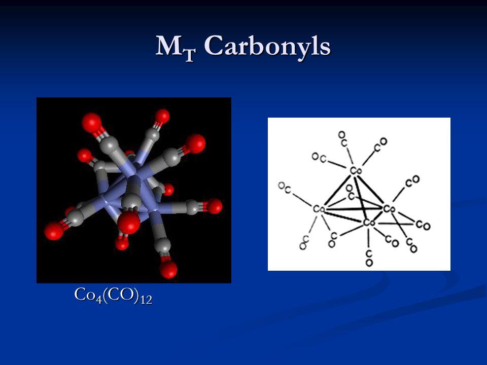 MT Carbonyls Co4(CO)12
