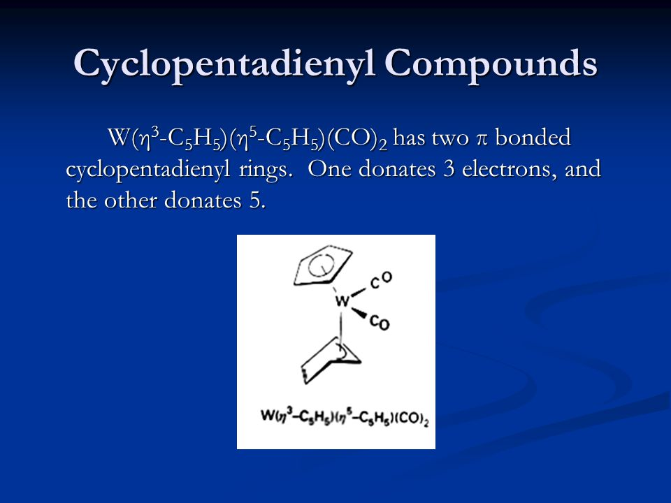 Cyclopentadienyl Compounds