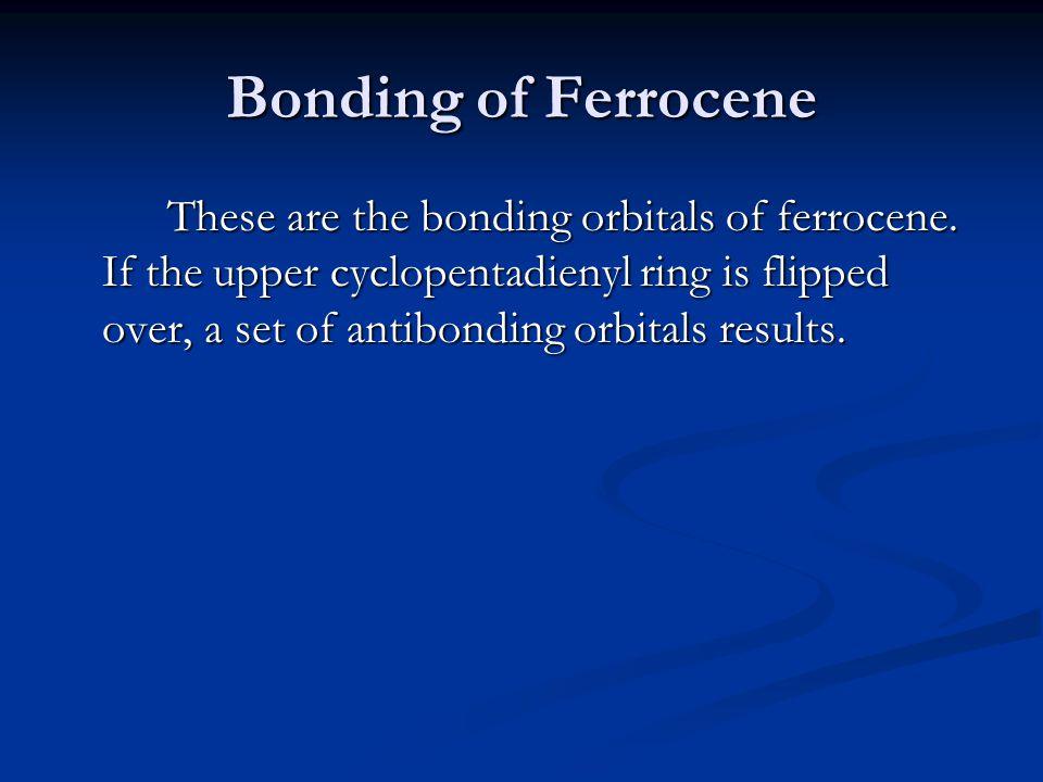 Bonding of Ferrocene