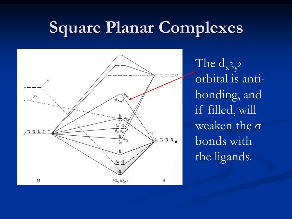 Square Planar Complexes