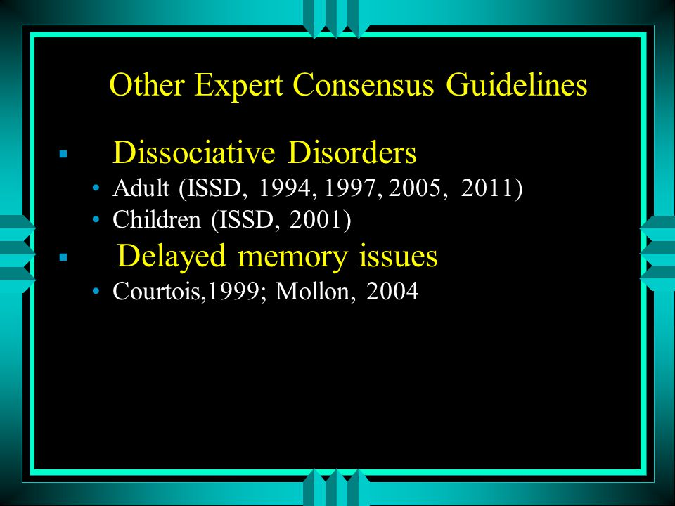 Other Expert Consensus Guidelines