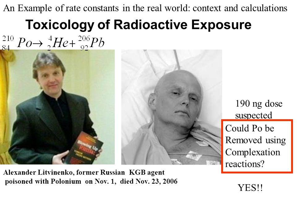 Toxicology of Radioactive Exposure