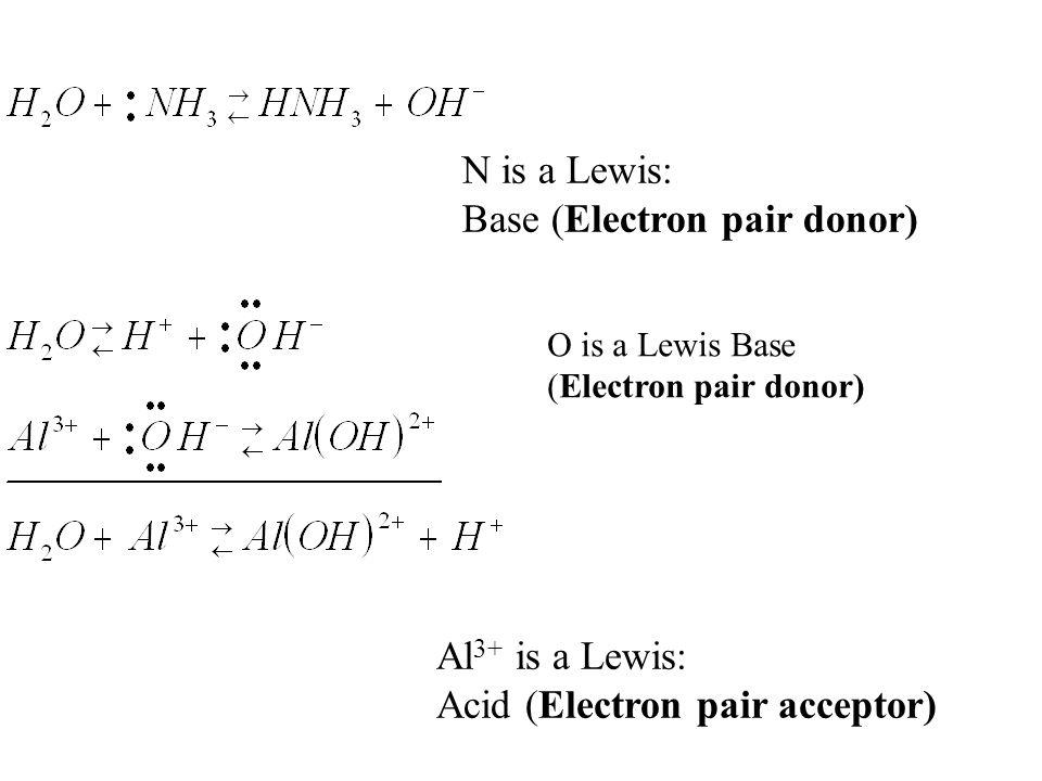Base (Electron pair donor)