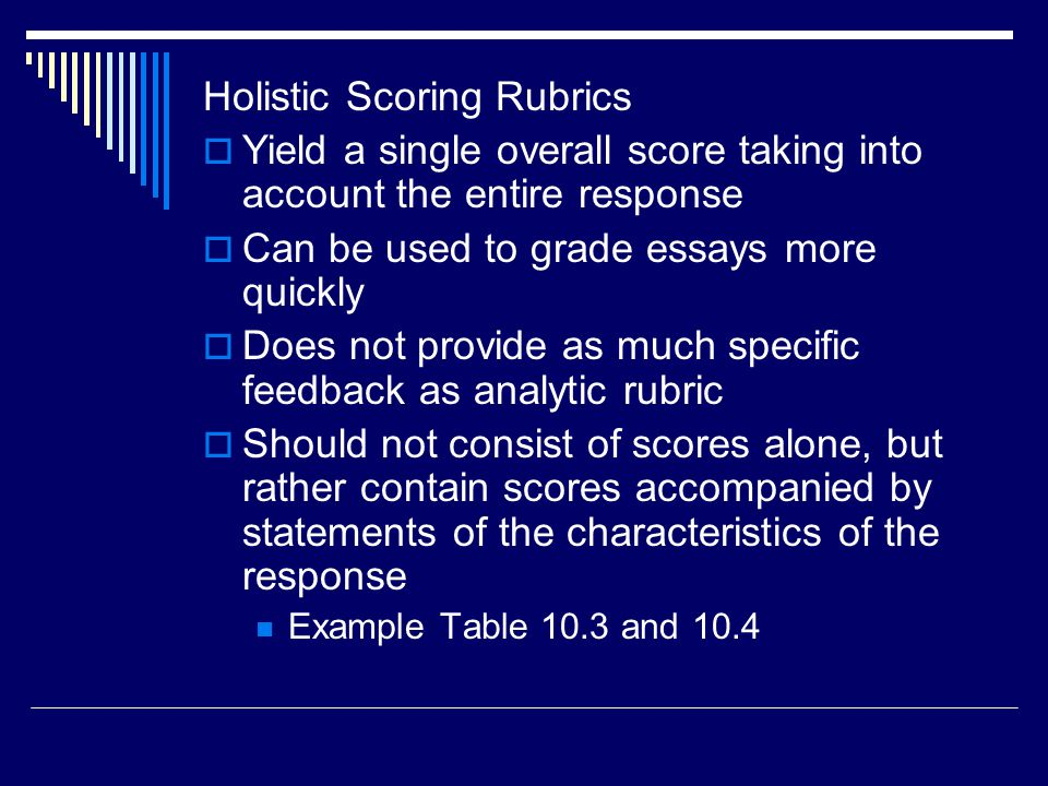 essay question scoring rubric Question 3  the score should reflect the essay's essays earning a score of 4 inadequately explain what the writer means ap® english language and composition.