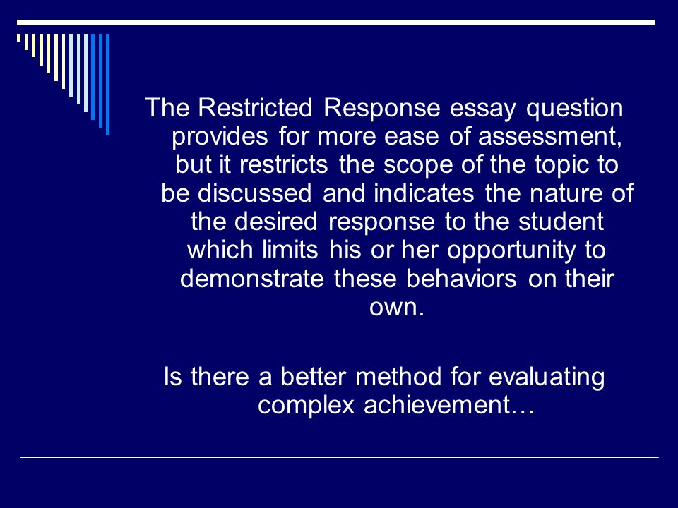 Is there a better method for evaluating complex achievement…