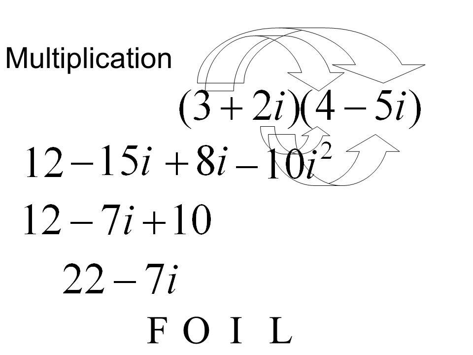 Multiplication F O I L