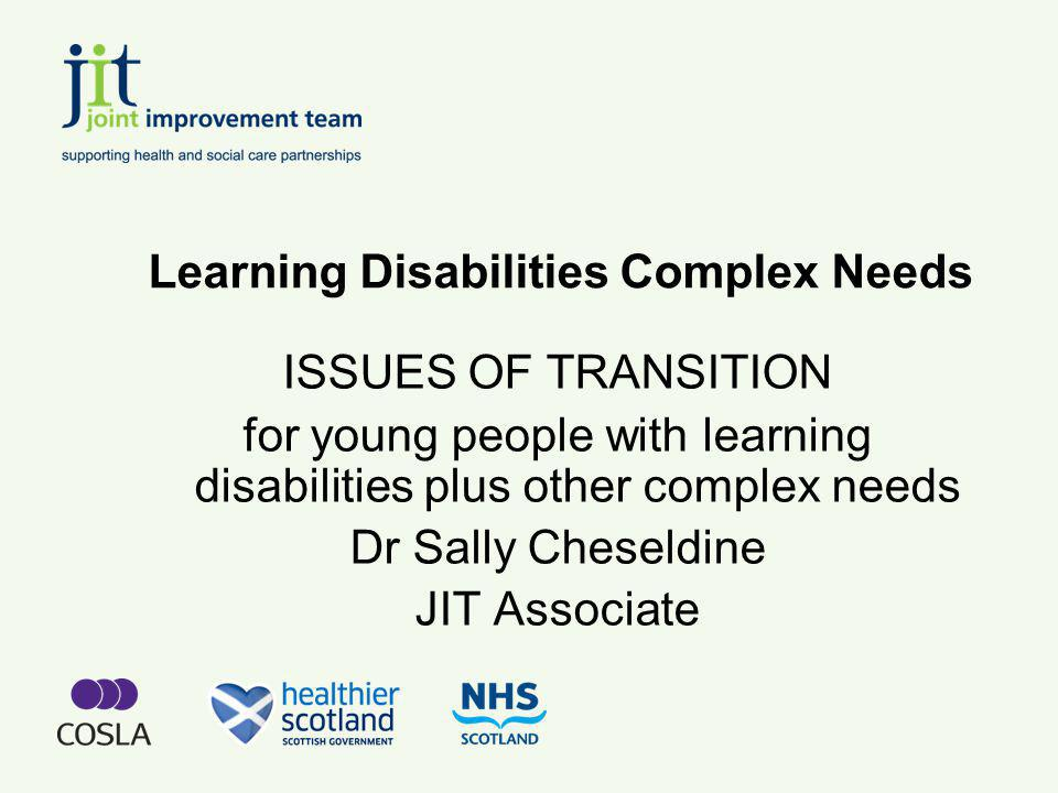 Learning Disabilities Complex Needs