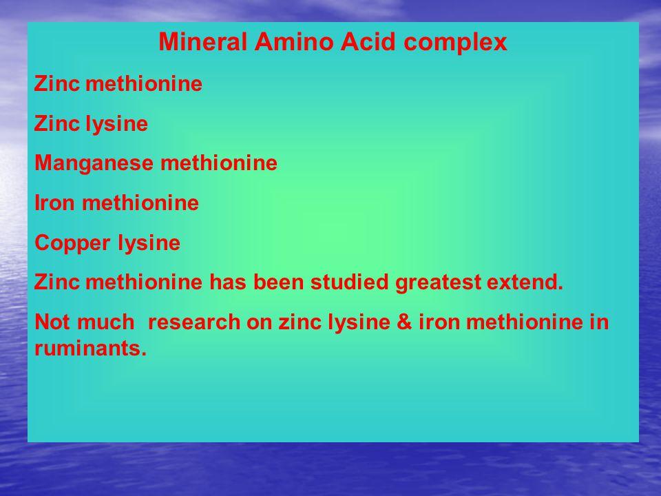 Mineral Amino Acid complex