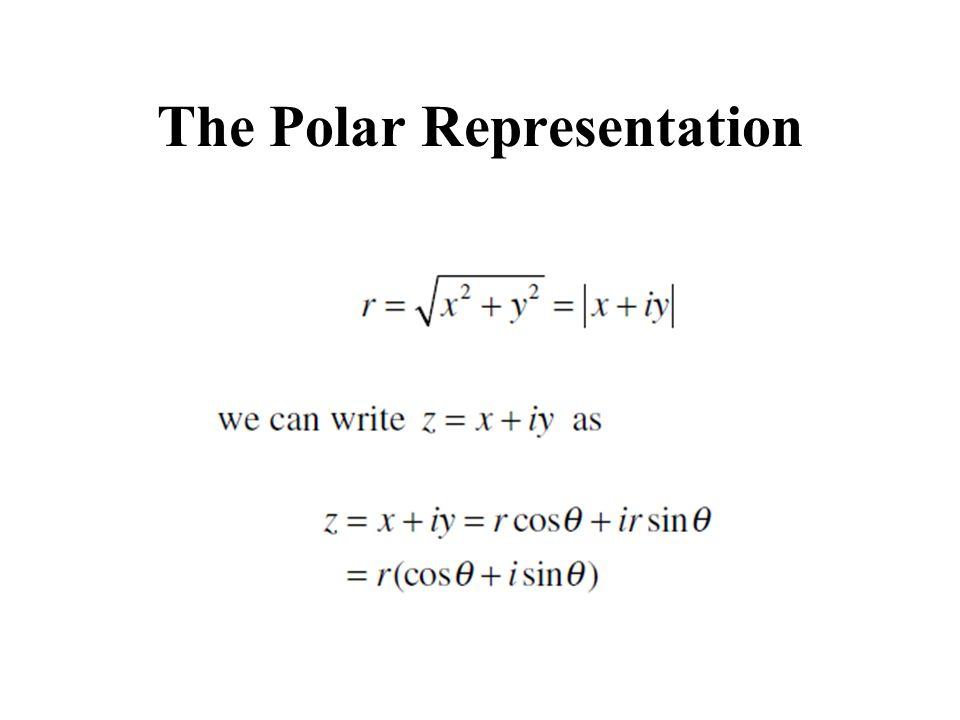 The Polar Representation