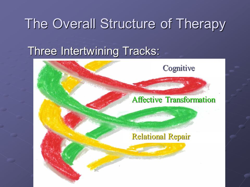 The Overall Structure of Therapy