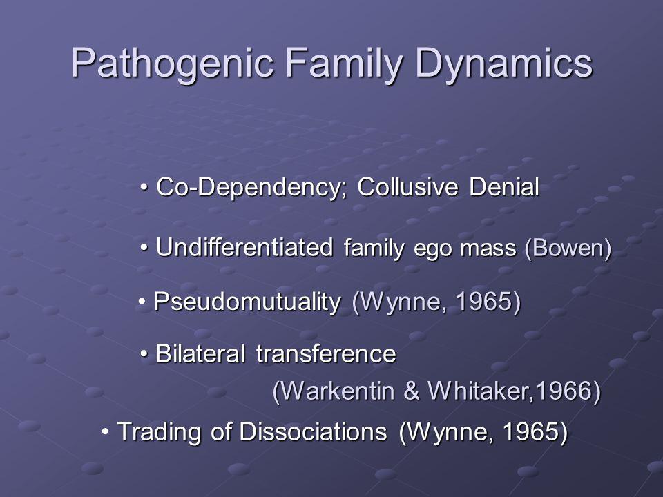 Pathogenic Family Dynamics