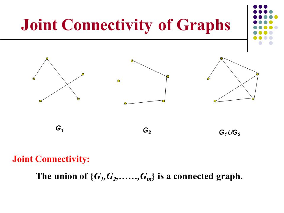 Joint Connectivity of Graphs