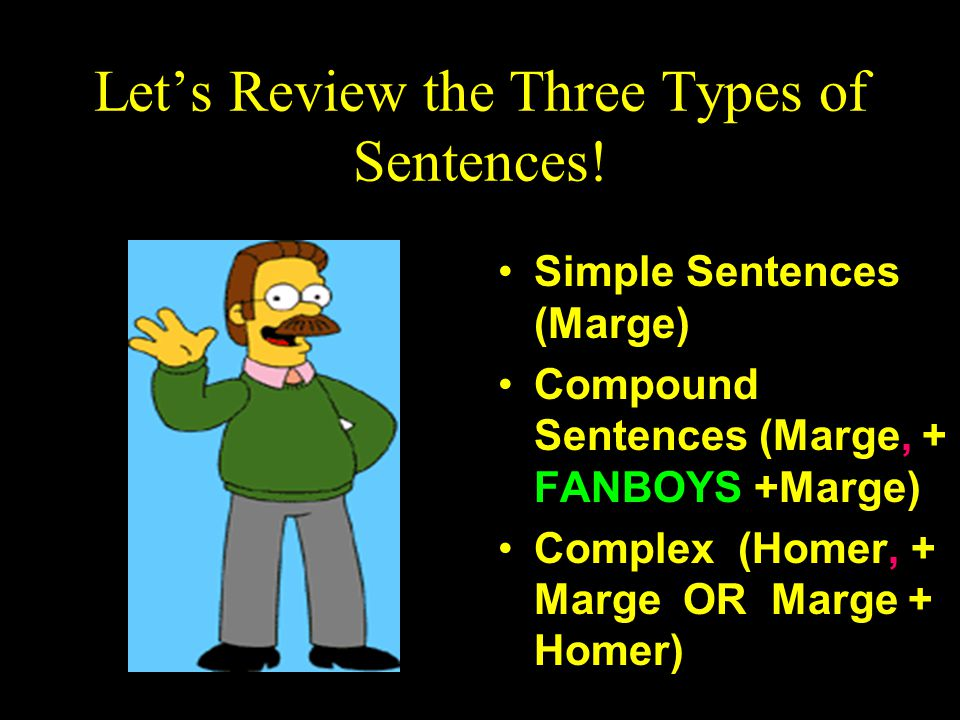 Let's Review the Three Types of Sentences!