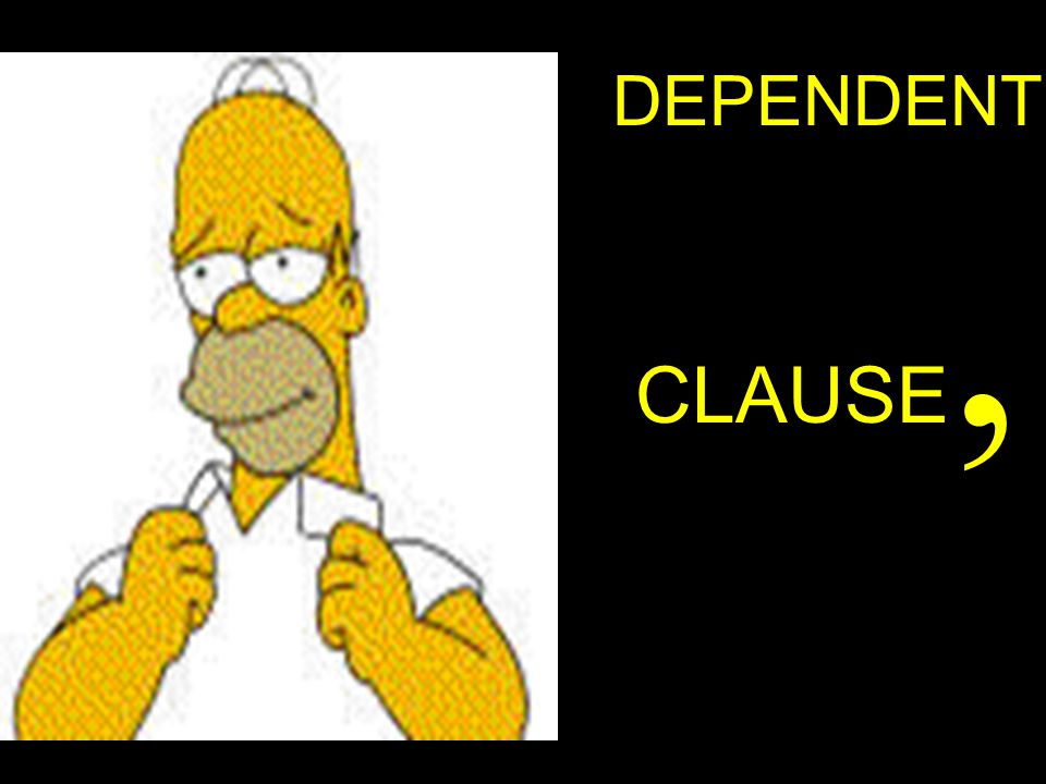 DEPENDENTCLAUSE,