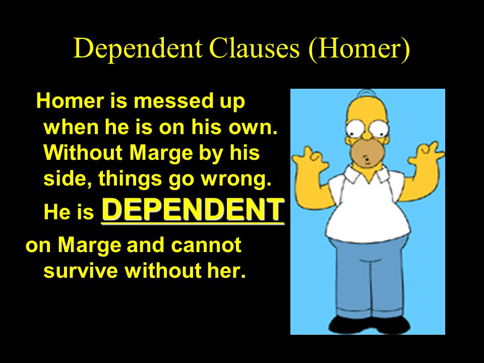 Dependent Clauses (Homer)