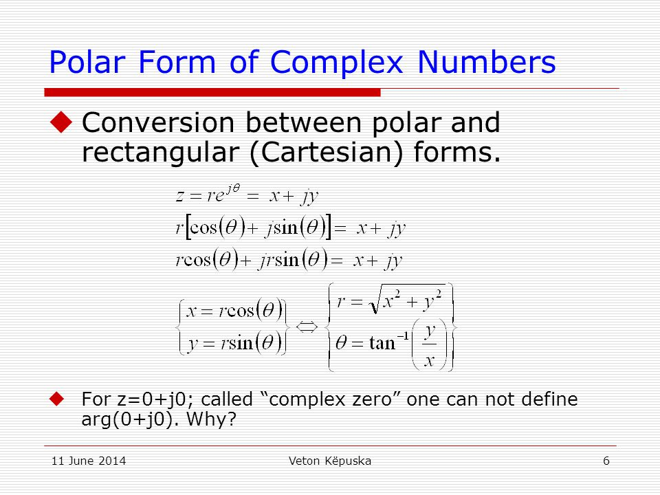 Complex Algebra Review - ppt video online download