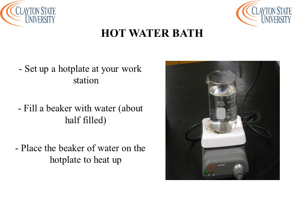 HOT WATER BATH