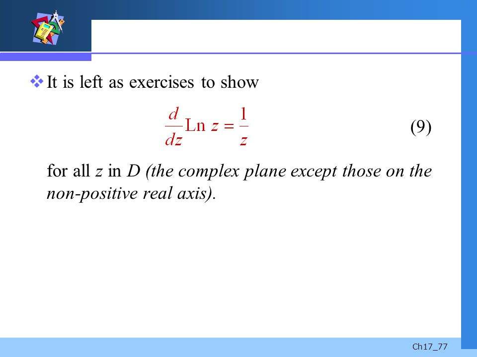 It is left as exercises to show