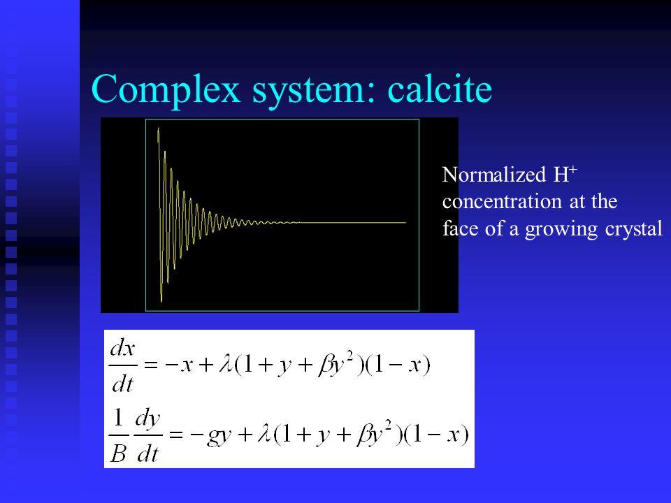 Complex system: calcite