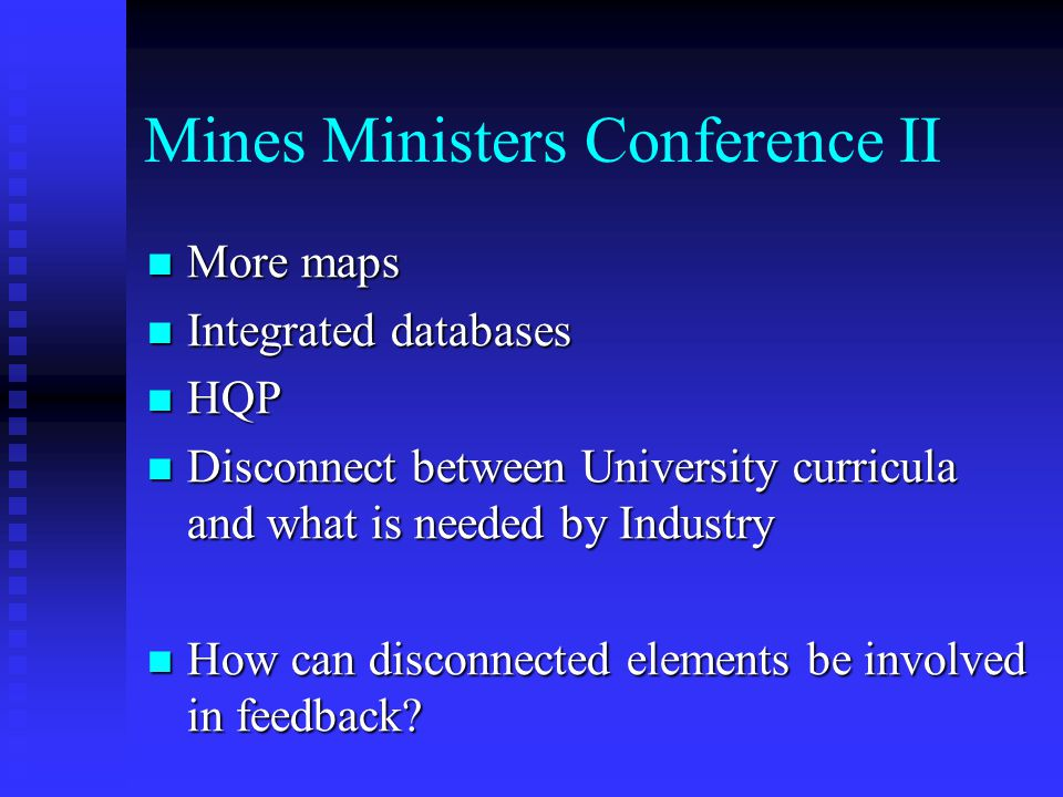 Mines Ministers Conference II