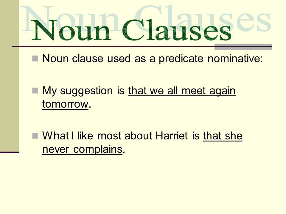 Adverb Clauses Adjecti...