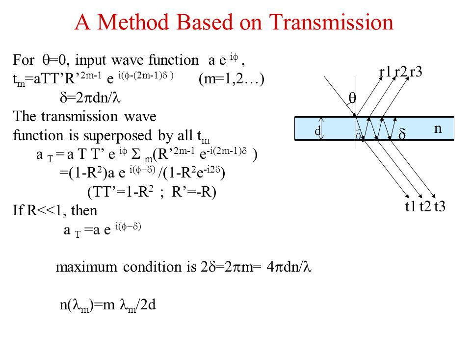 A Method Based on Transmission