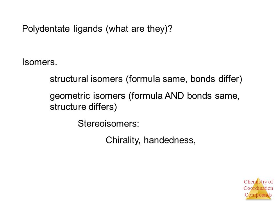Polydentate ligands (what are they)