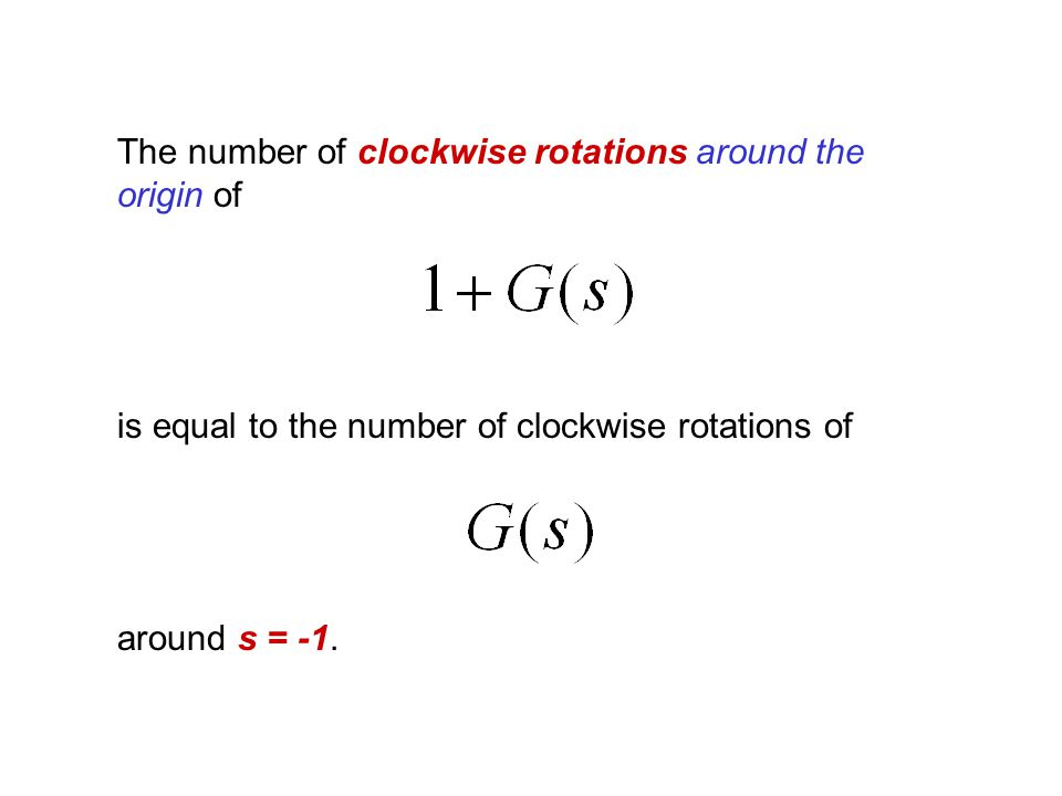 The number of clockwise rotations around the origin of