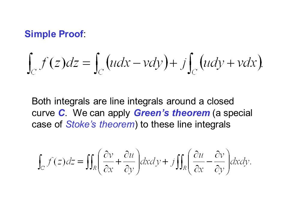 Simple Proof: