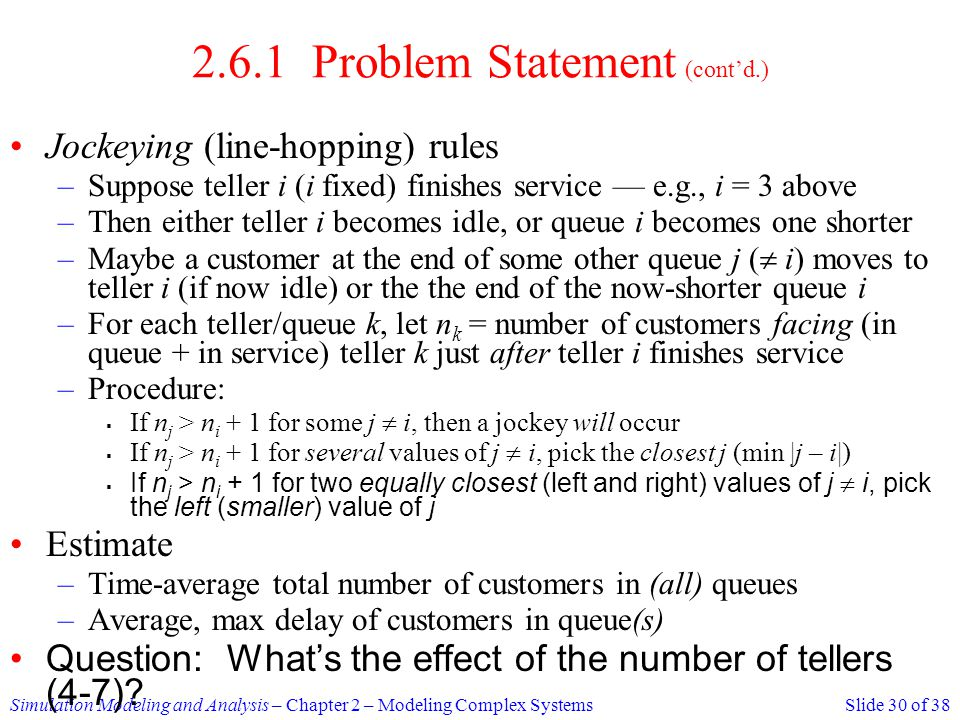 2.6.1 Problem Statement (cont'd.)