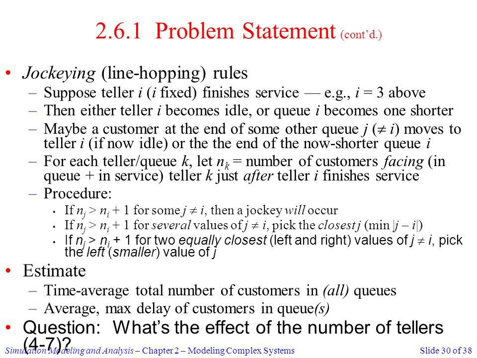 2.6.1 Problem Statement (cont'd.)