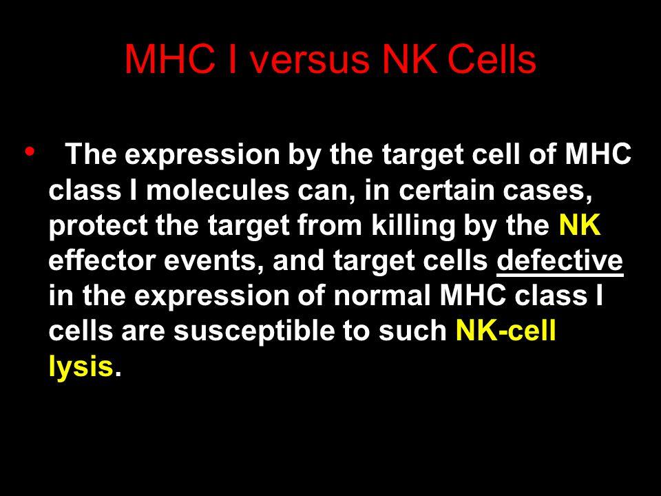 MHC I versus NK Cells
