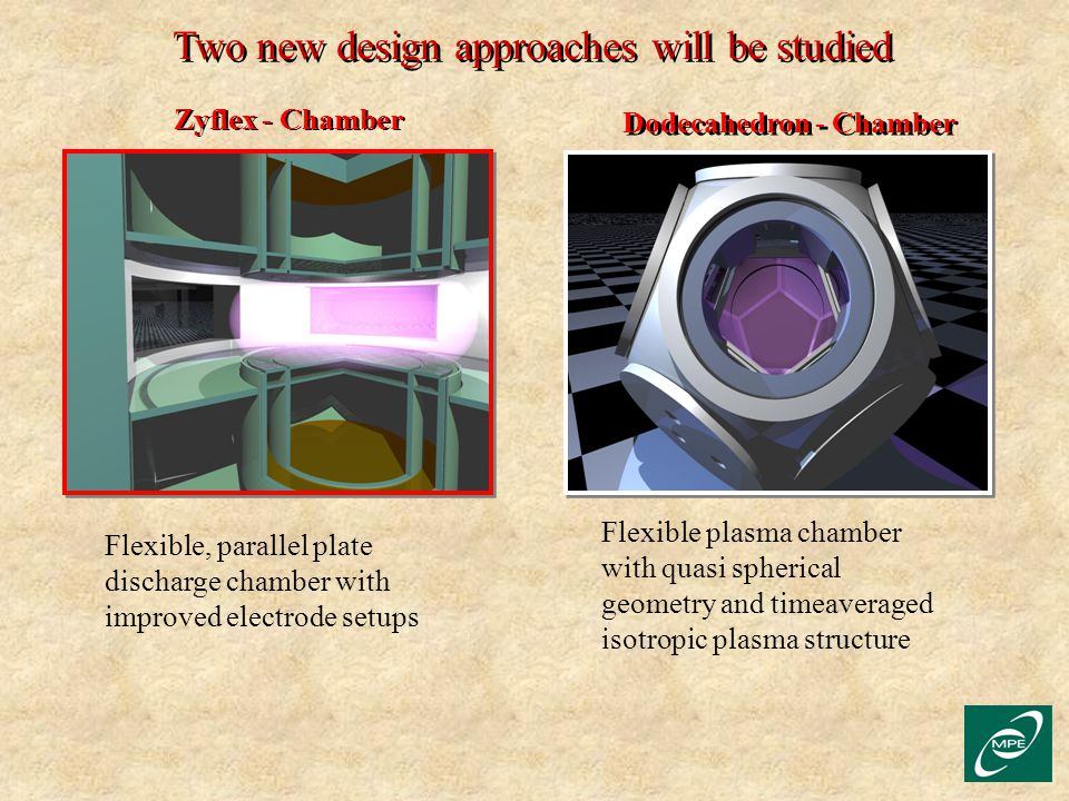 Two new design approaches will be studied