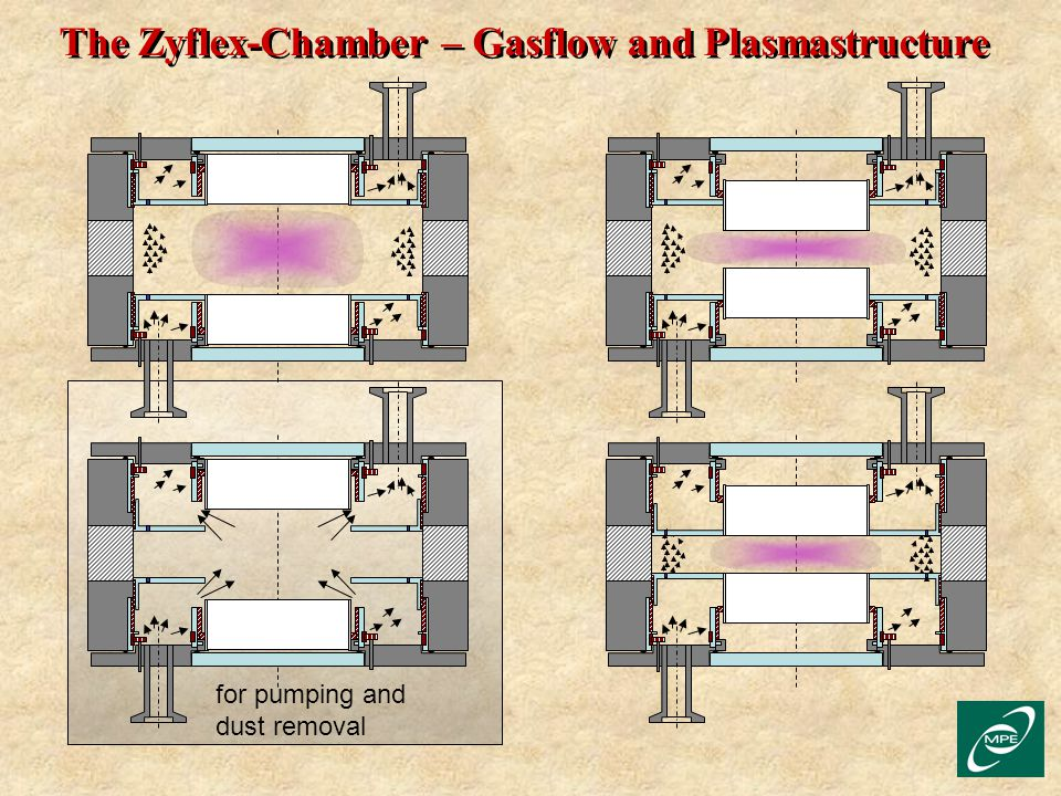 The Zyflex-Chamber – Gasflow and Plasmastructure