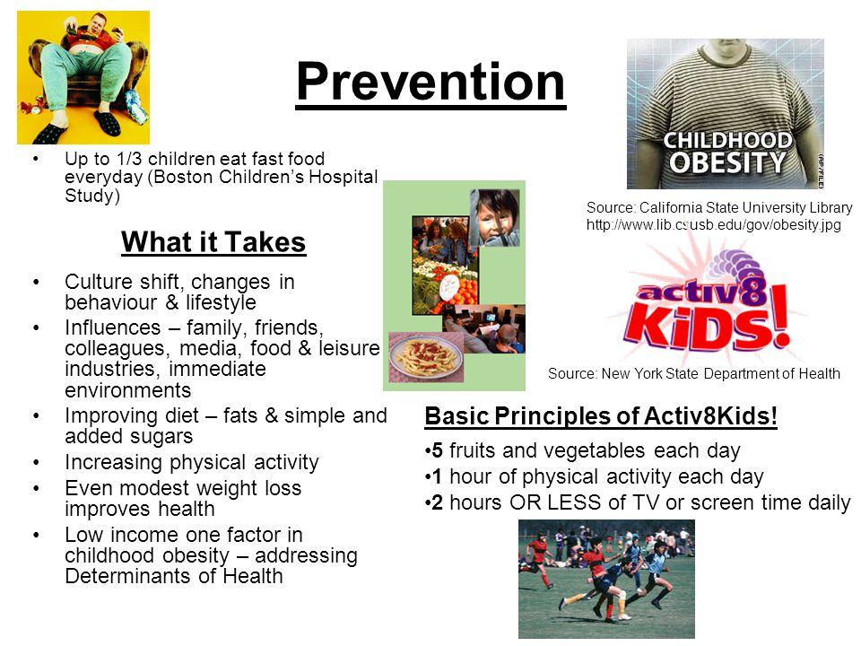 Prevention What it Takes Basic Principles of Activ8Kids!