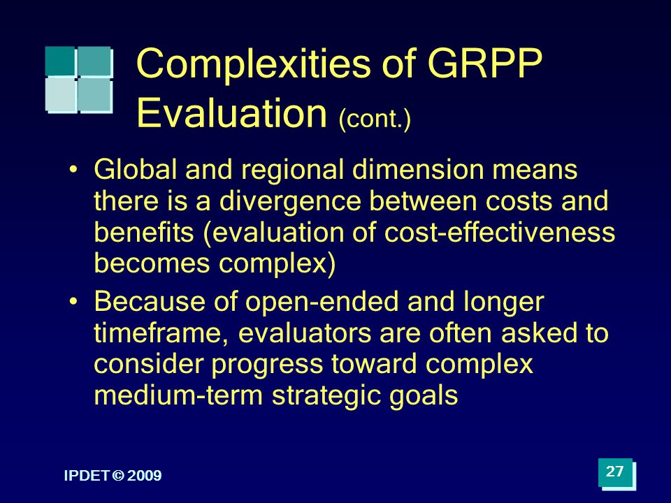 Complexities of GRPP Evaluation (cont.)