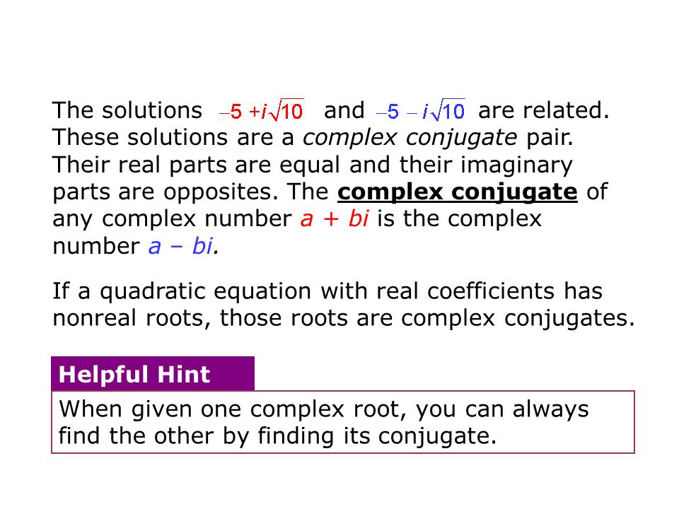 The solutions and are related