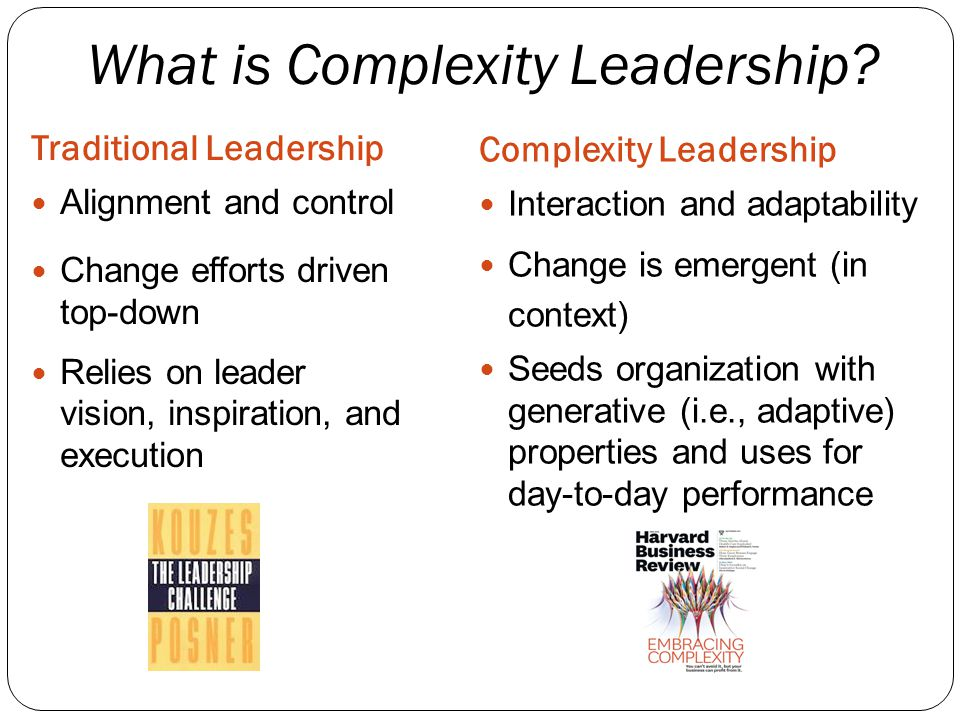 What is Complexity Leadership