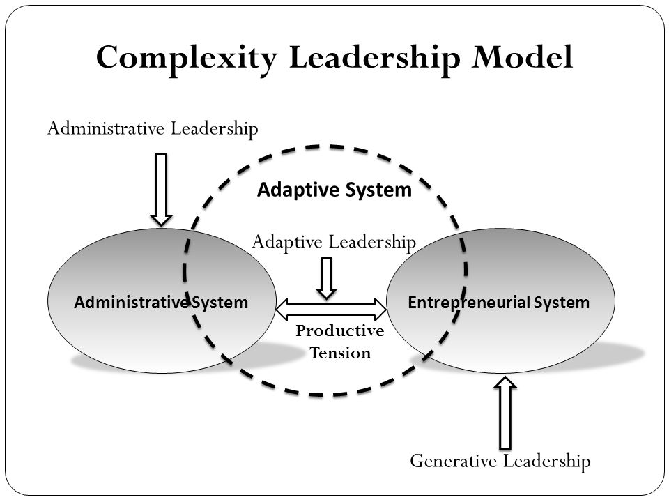 Complexity Leadership Model